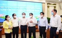 Thủ tướng Phạm Minh Chính: Ủng hộ tối đa để TP HCM phát triển