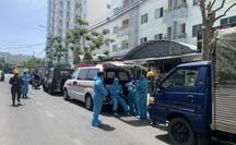 Đà Nẵng tiếp tục phong tỏa 1 chung cư do có ca nghi nhiễm Covid-19