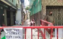TP HCM: Phong tỏa một con hẻm tại quận 3 vì có ca dương tính Covid-19