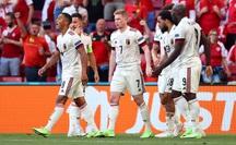 Ngược dòng siêu đỉnh, Bỉ thắng tưng bừng chủ nhà Đan Mạch