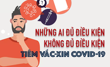 [Infographic] Điều kiện để tiêm vắc-xin Covid-19 an toàn