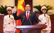 CLIP: Thủ tướng Phạm Minh Chính tuyên thệ nhậm chức