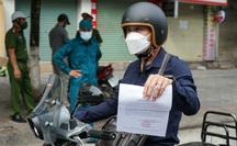 Mẫu giấy đi đường ở Hà Nội khi giãn cách xã hội