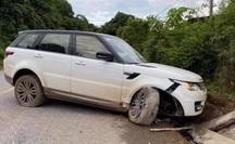 "Giang hồ mạng Huấn ""Hoa Hồng"" lái xe Range Rover gặp nạn"
