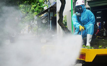 Bộ Y tế yêu cầu không phun hóa chất khử khuẩn ngoài trời, không phun vào người
