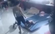 Bình Dương: Tạm giữ người đàn ông hành hạ bé trai gây bức xúc dư luận