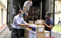 852.480 liều vắc-xin Đức hỗ trợ về đến Việt Nam