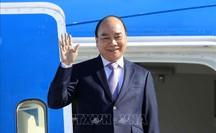 Chủ tịch nước Nguyễn Xuân Phúc đến Cuba