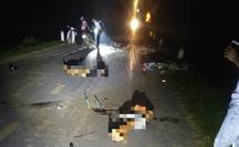 Tai nạn thảm khốc giữa nhiều xe máy khiến 5 người tử vong, 3 người bị thương