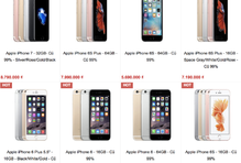 iPhone đời cũ tiếp tục rớt giá