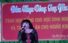 Ca sĩ hải ngoại diễn… chui ở Tiền Giang!
