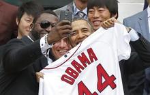 """Samsung lấy ảnh """"tự sướng"""" của ông Obama tiếp thị điện thoại"""