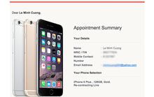 Người Việt ở Singapore xếp hàng, rao bán iPhone 6