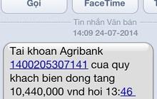 Cảnh báo chiêu giả tin nhắn chuyển khoản để lừa đảo