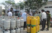 Ổ gas lậu vùng giáp ranh