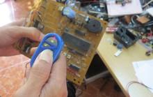 Thiết bị Trung Quốc phá mã cửa cuốn điện chỉ vài giây