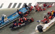 Chìm tàu Hàn Quốc: Đã có 9 người thiệt mạng
