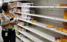 Venezuela lo thiếu hụt thực phẩm, buôn lậu gia tăng