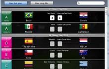 Theo dõi, cập nhật kết quả World Cup tự động