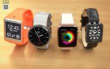 Apple Watch so găng Moto 360, Gear 2 Neo và Pebble Steel