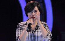 Thí sinh Vietnam Idol khóc nghẹn trên sân khấu