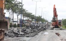 Đại lộ Mai Chí Thọ bao giờ hết lún?