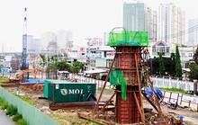 Dự án metro số 1 bị 1 công ty ngáng đường