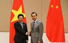 Phó Thủ tướng Phạm Bình Minh gặp Ngoại trưởng Trung Quốc