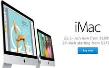 Apple làm mới iMac, giá rẻ hơn