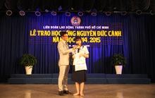 Trao 155 suất học bổng cho con CNVC-LĐ nghèo, vượt khó