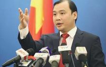 Người phát ngôn nói về việc Trung Quốc đưa vũ khí lên đảo lấn chiếm