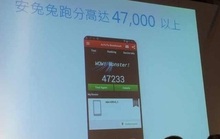 Chân dung điện thoại dùng chíp MT6595 đạt 47.000 điểm