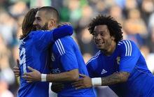 Vùi dập chủ nhà Betis 5-0, Real Madrid lên ngôi nhì bảng