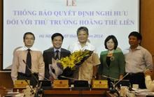 3 Thứ trưởng cùng Chủ tịch PVN và Vinacomin nghỉ hưu