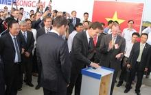 Thủ tướng Hà Lan tới Hải Phòng nhấn nút hạ thủy tàu biển