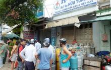Cháy nhà bán gas, dân cư một phen nháo nhào
