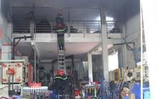 Chập điện gây cháy lớn ở công ty đúc khuôn