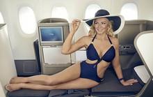Dùng người đẹp bikini quảng bá hàng không