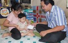 Trao 6,5 triệu đồng giúp cháu bé bị bệnh hiểm nghèo