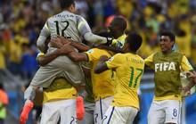 Thắng ở loạt sút 11 m, Brazil nhọc nhằn vào tứ kết