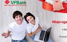 Nhận quà khi gửi tiết kiệm online tại VPBank