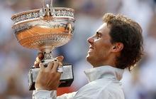 Chiến tích vàng Roland Garros của Rafa Nadal