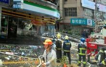 Lại nổ khí gas ở Đài Loan, 15 người thương vong