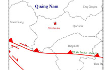 Quảng Nam: 2 trận động đất liên tiếp ở Bắc Trà My và Quế Sơn