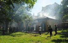 Cháy nhà thuộc quần thể di tích Quốc gia-Biệt điện