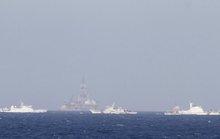 Trung Quốc bố trí 3 lớp tàu bảo vệ việc di chuyển giàn khoan Hải Dương 981