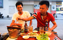 Nướng ngói ở Nha Trang