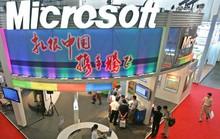 Microsoft tại Trung Quốc bị khám xét