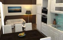 Hoàn thiện nội thất căn hộ hơn 70 m2 chỉ với 50 triệu đồng