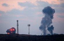 Israel không kích ồ ạt vào Dải Gaza